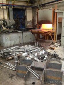 Участок термообработки металла